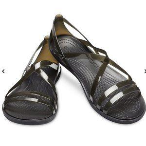 Women's Crocs Isabella Strappy Sandal Black Size 6